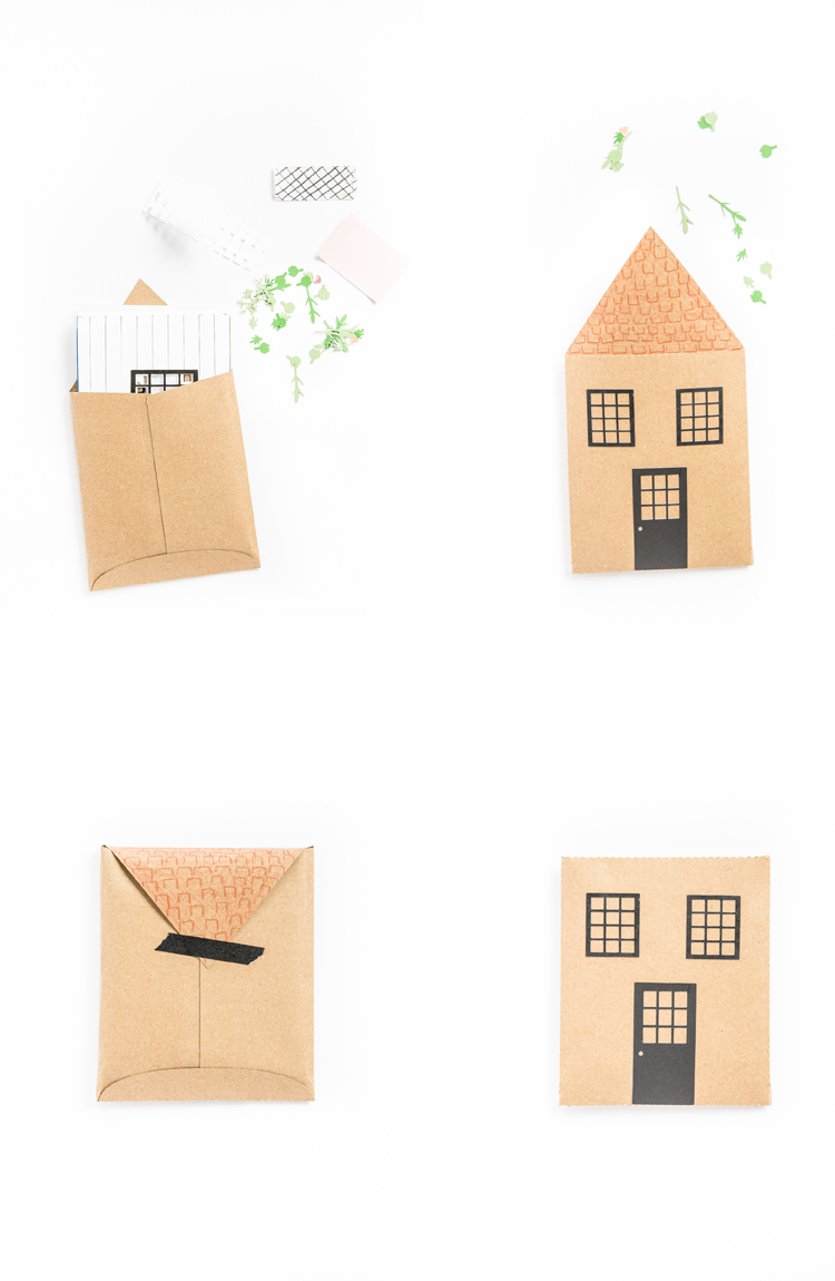 Pop Up Paper Doll House - Free .svg cut files! // www.deliacreates.com