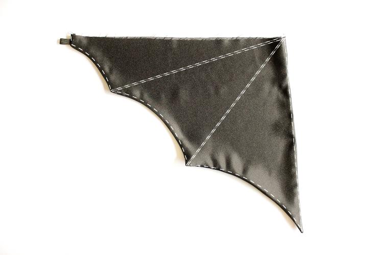 Easy Batwing Costume Tutorial // www.deliacreates.com
