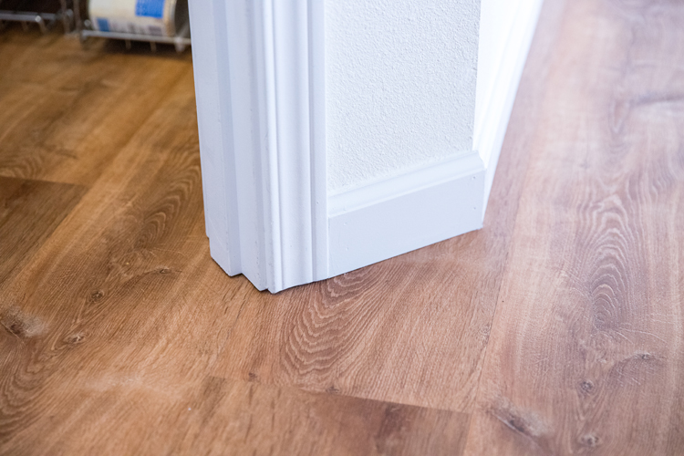 How We Installed LifeProof flooring in 75% of our house ourselves// www.deliacreates.com