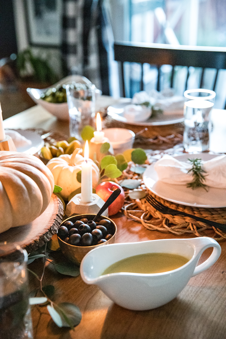 Allergy Friendly Thanksgiving Dinner // www.deliacreates.com