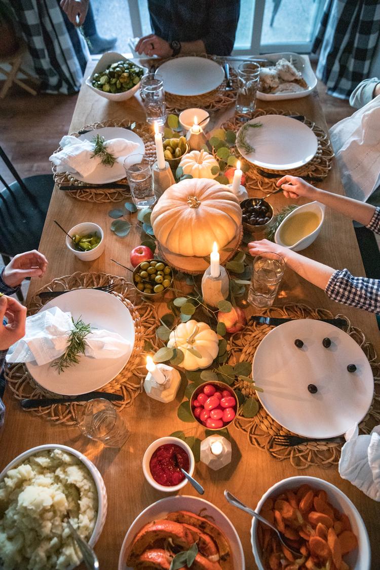 Allergy Friendly Thanksgiving Dinner // www.deliacreates.com