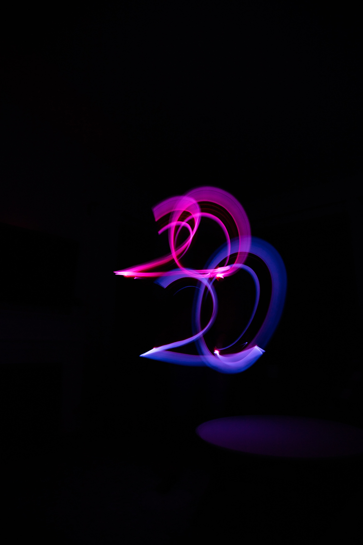7 Easy ways to make New Year's Eve fun for kids and families! // Have a glow stick dance party! // www.deliacreates.com