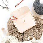 Leather Pouch Tutorial - Free Template
