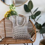 Crochet Mesh Bag – free pattern