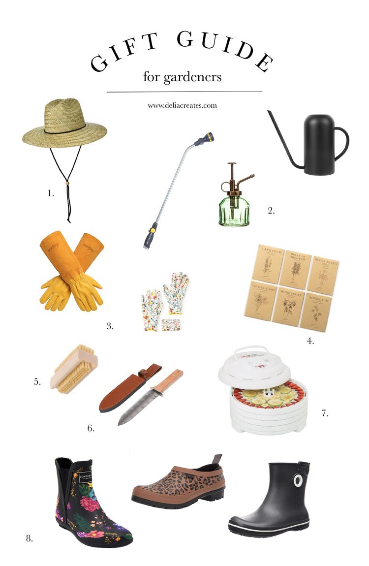 Gift Guide for Gardeners // www.deliacreates.com