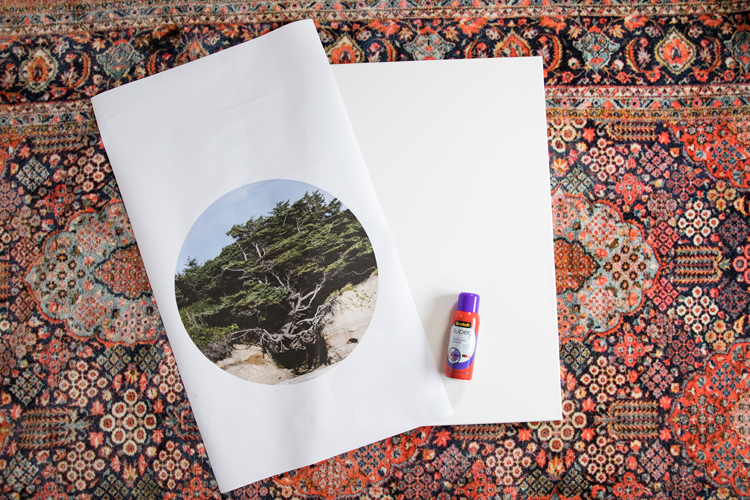 Tree of 2020 - free art print // print to canvas tutorial // www.deliacreates.com