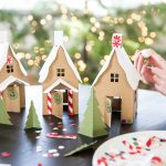 Paper Gingerbread House – free downloads!