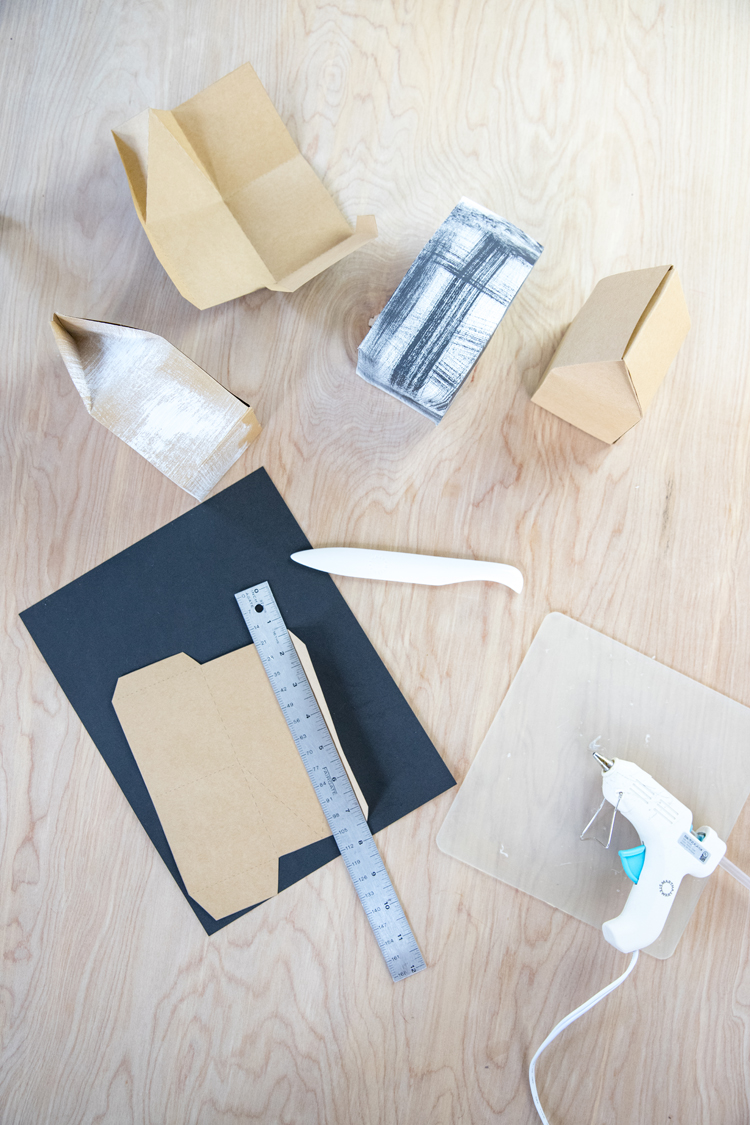 Stove Top Potpourri House Boxes - free download! // www.deliacreates.com