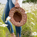 Easy Painted Daisy Hat